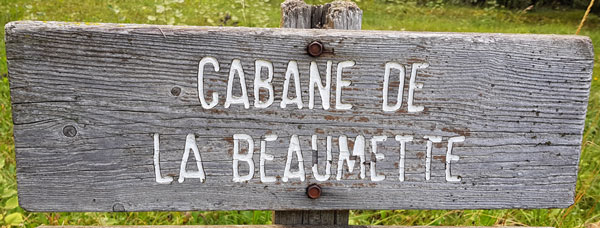 Cabane de la beaumette photo1