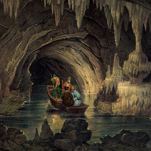 Grottes de la balme en tete