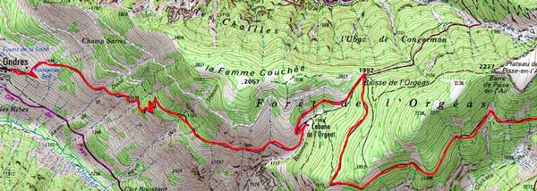 Lac lignin carte2
