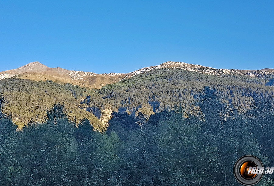 Mont froid photo