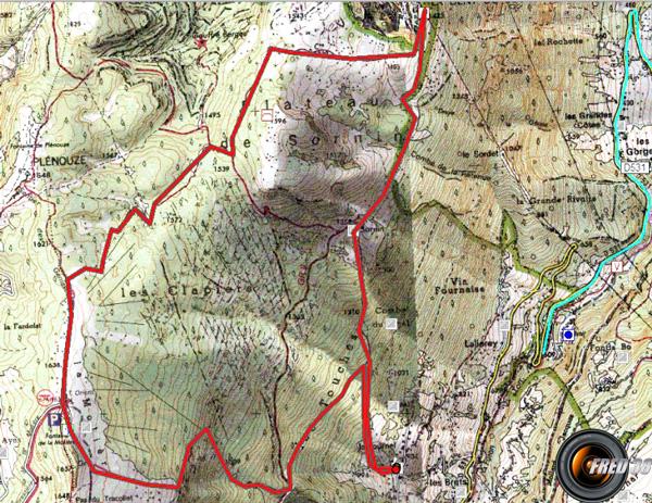 Plateau moliere carte