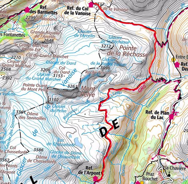 Tour glacier carte2