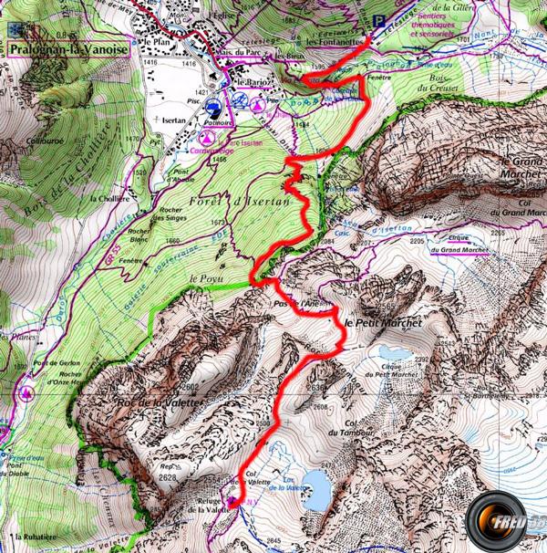 Tour glacier carte5