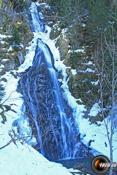 La cascades des Pissus, sur le Bréda.