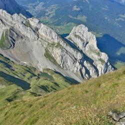 Vue du sommet de Tardevant.