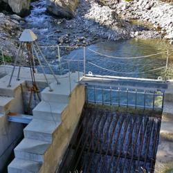 Le petit barrage