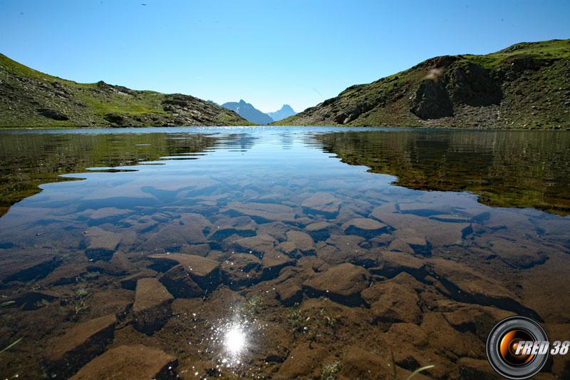 Le lac Gary.