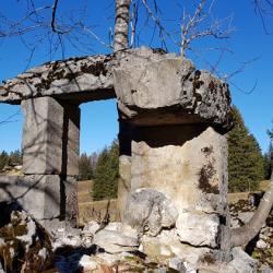 Ruines du Habert d'Arpison.