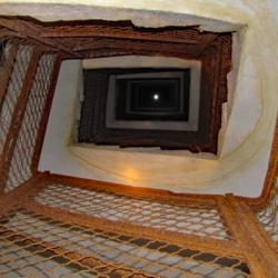 La partie souterraine de l'un des blockhaus.