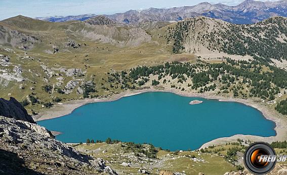 Lac d'Allos.