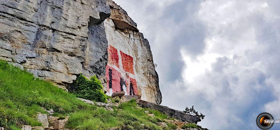 La grande croix de Savoie