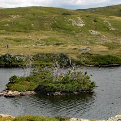 Le lac Fourchu.