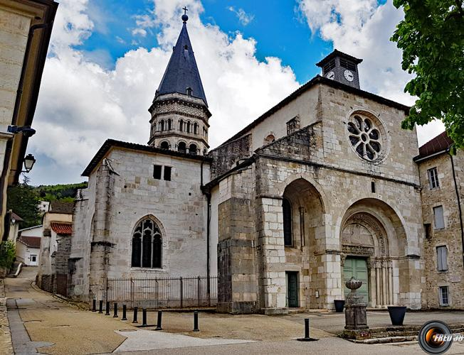 Abbatiale Saint-Michel.