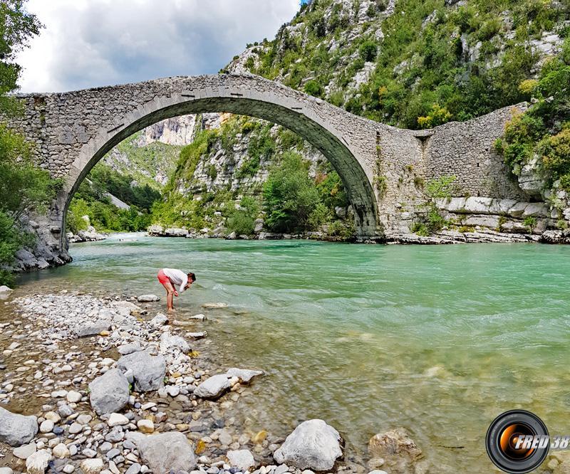 Le pont de Tusset.