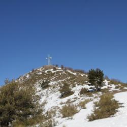 La crête finale de la randonnée