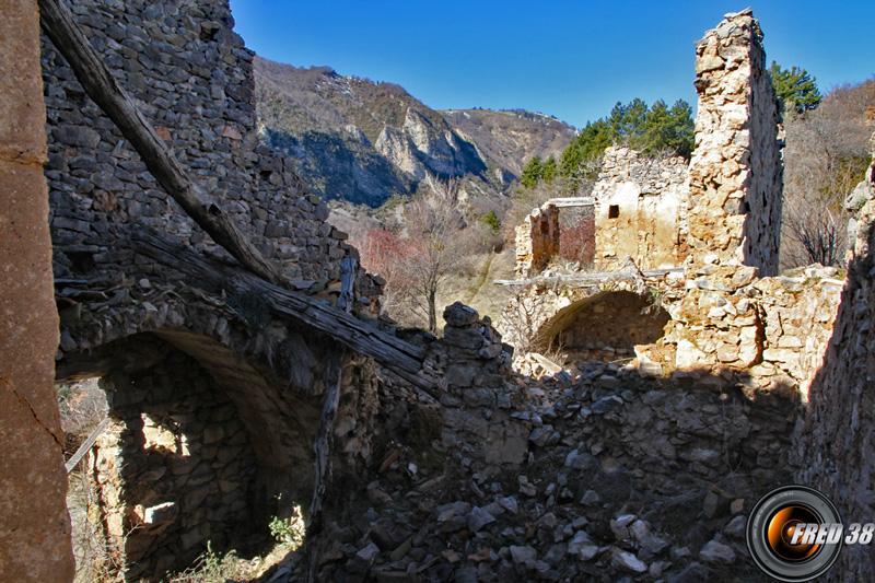 Ancien hameau de Givaudan.