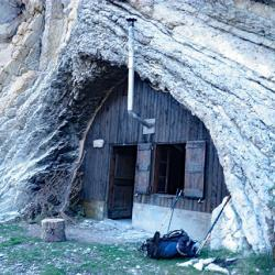 Le sympathique refuge ONF de Boulès.