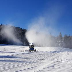 La piste de ski nordique