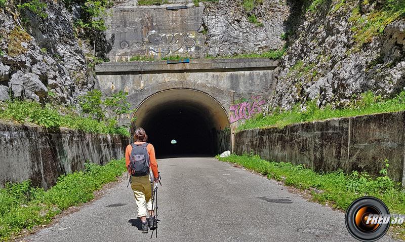 Tunnel du Mortier.