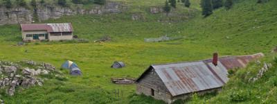Cabane de l alpette photo