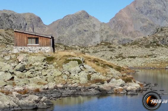 Cabane des lacs Robert.