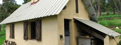 Cabane pastorale pas d archail photo
