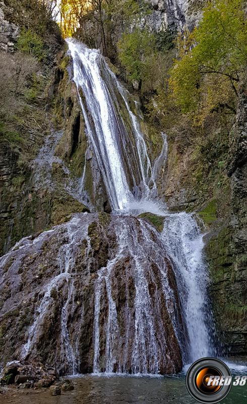 La cascade.