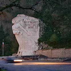 Monument à la résistance.