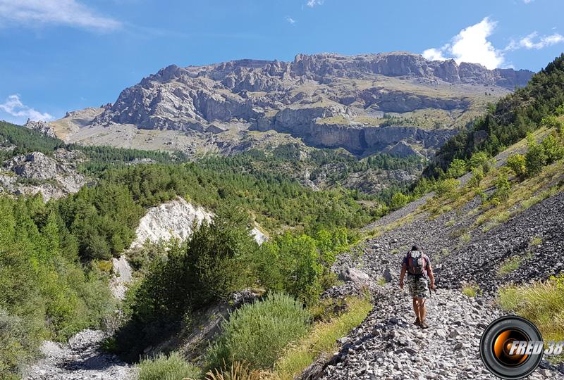 Le long du Ravin du Réal.