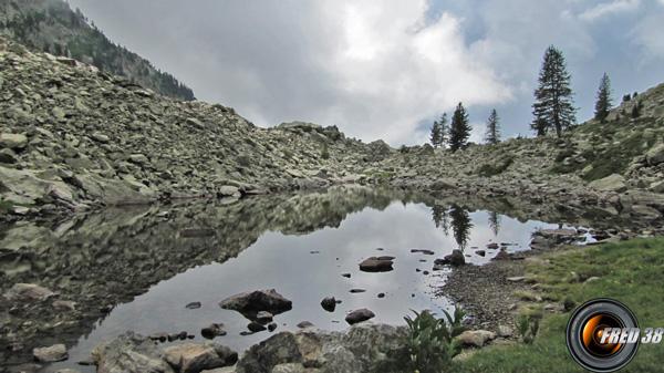 Le petit lac Cerise