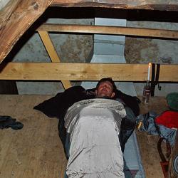 Couchage à l'étage,