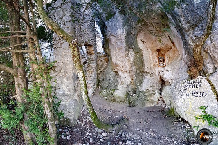 Grotte d el'hermite.