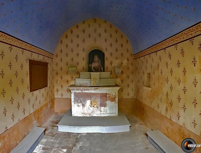 Chapelle de Petit Lagneux.