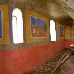 Les peintures intérieures.