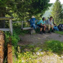 Au refuge de la Grande Montagne.