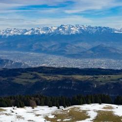 Grenoble et la chaine deBelledonne