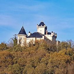 Le Chateau vu de Saint-Julien