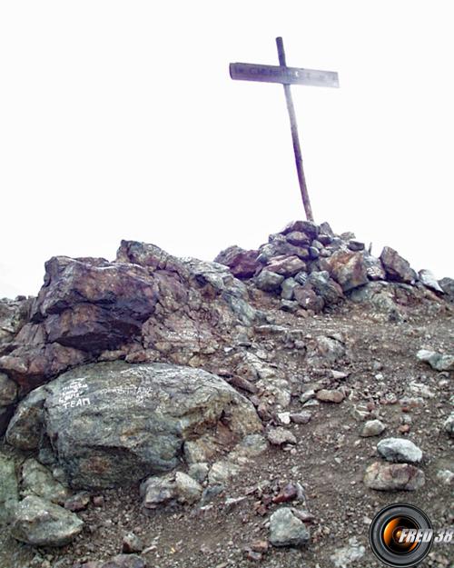 Le sommet du Chenaillet
