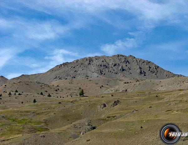 Vue du vallon de Cervières