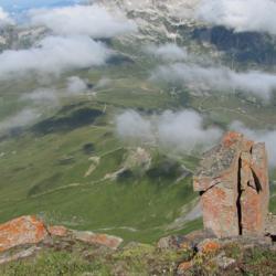 Col de la Madeleine vu du sommet