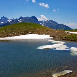 Le lac haut.