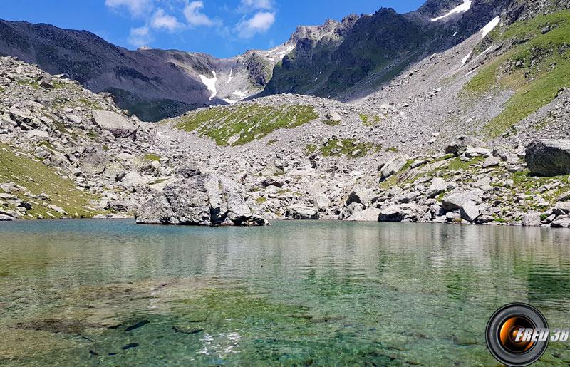Le lac bas.