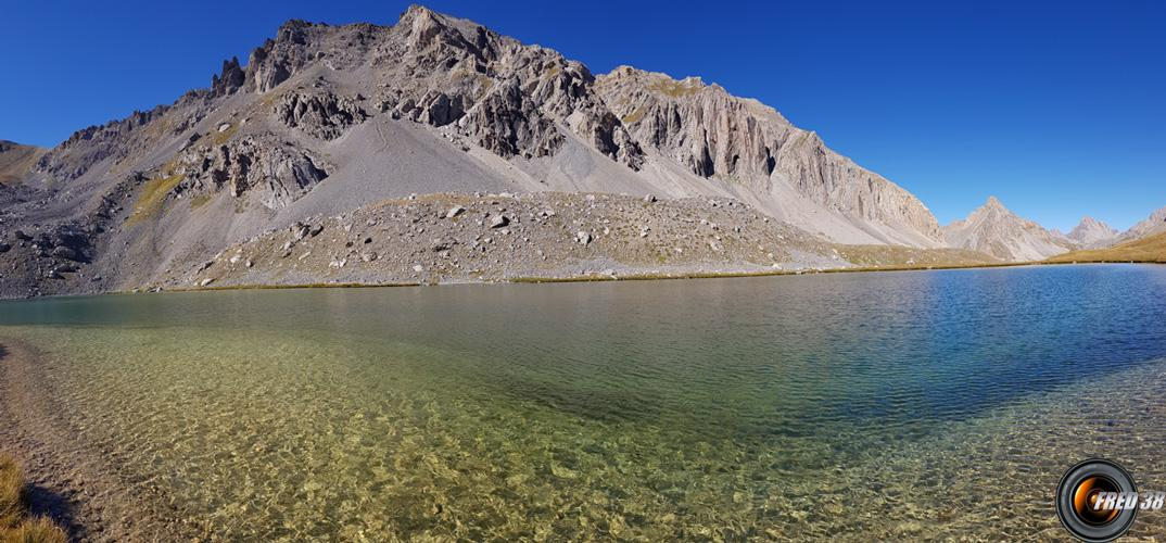 Lac de l'Orenaye.