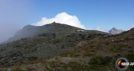 Le sommet en vue.
