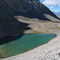 Lac du Cimet près du col du Petit Talon.