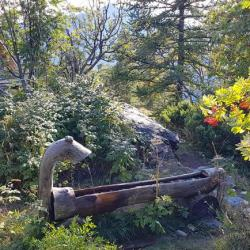 Fa fontaine près du chaletde Roche Juan.
