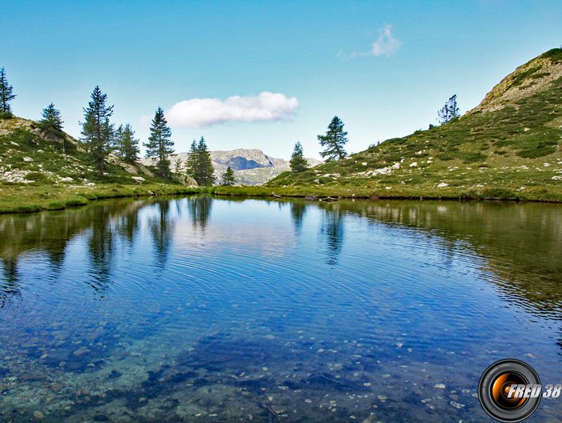 Un des lacs.