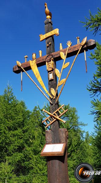 La croix de mission.