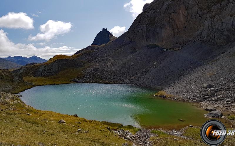 Lac de la Clarée.