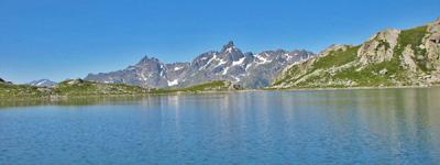 Col et lac des 7 laux eau d olle photo
